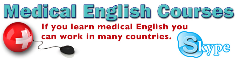 medical English courses logo